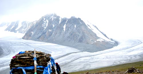 Потанины мөсөн гол Алтай